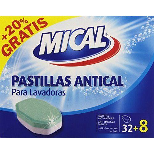 Mical - Pastilles Pour Lave-linge - Lot De 2 Boîtes De 40 Pastilles