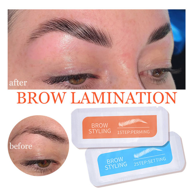 Brand Brow Lamination Kit Safe Perming Brow Lift Set Eyebrow Lifting Eyebrow Enhancer Brows Styling Beauty Salon Home Use Makeup