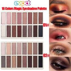 Paleta de maquillaje de 16 colores, sombra de ojos de diamante de alta perla mate impermeable para principiantes, nuevo producto, juego de cosméticos de explosión