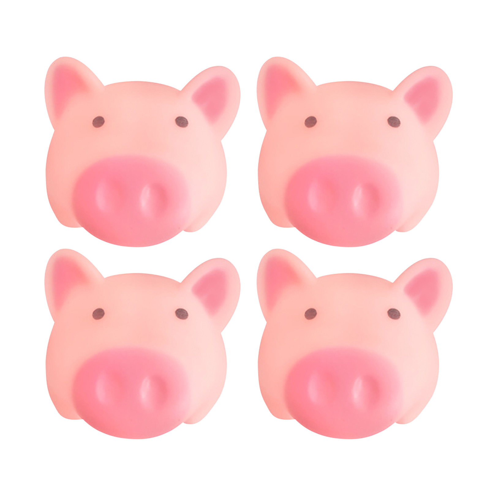Snailhouse New Cartoon Soft Cute Pink Pig Toy Pig Cute Pink Toy To Vent Children Bath Pig Pinching Joys Stress Vent Toy#4 img4