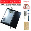 Para Lenovo Yoga Tablet 8 B6000 pantalla táctil completa digitalizador Sensor de vidrio + Panel de pantalla LCD Monitor módulo montaje