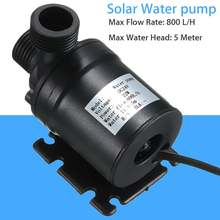 DC 24V Water Circulation Pump For Water Brushless Motor 800L/H 5M Brushless Motor Water Circulation Water Pond Pump