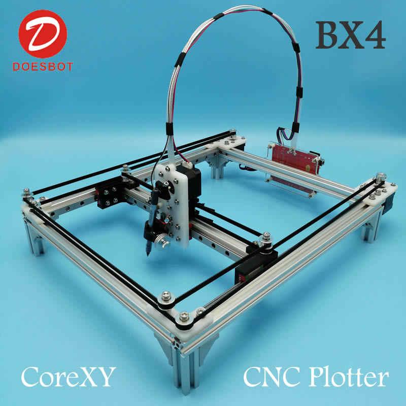 2 Achsen CNC XY Plotter Stift Zeichnung Maschine Roboter Zeichnung Pen DIY Set ❤