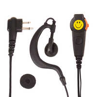 walkie talkie Earpiece Adjustable G-Style Headset Mic Dual PTT for Motorola Two Way Radio Walkie Talkie CP040 CP125 CP140 CP180