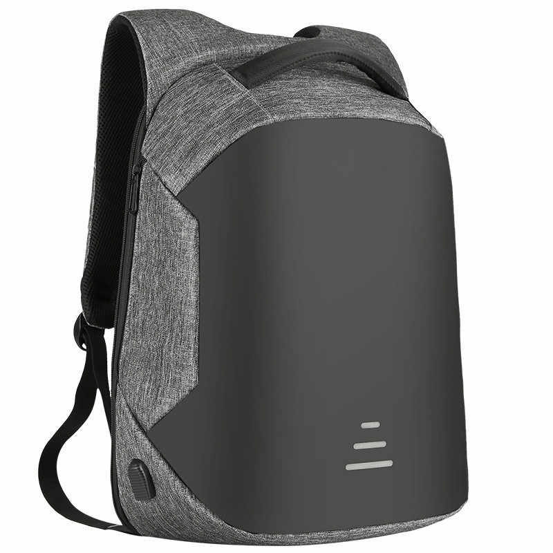 """BAIBU erkek kadın çok fonksiyonlu çantası USB şarj sırt çantası, Anti-theft 15.6 """"Laptop sırt çantası su geçirmez iş büyük seyahat çantası"""