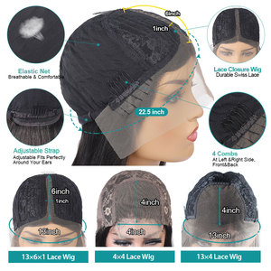 Image 5 - Allove peruwiańska peruka z mocnymi lokami 13X4 koronkowa peruka z ludzkimi włosami 13X6X1 koronkowa peruka z ludzkimi włosami głębokie peruki z kręconymi włosami dla czarnych kobiet
