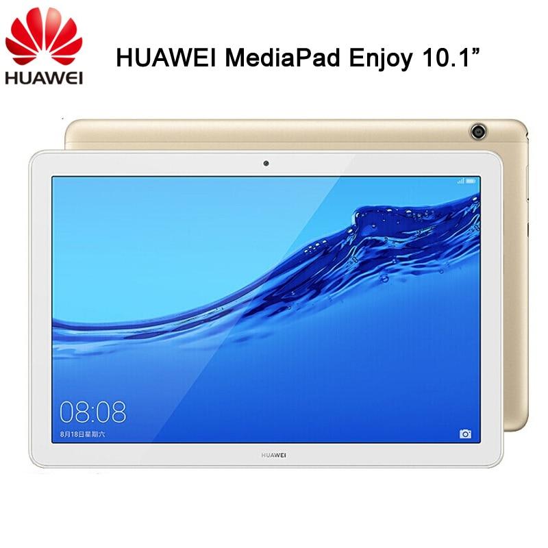 Оригинальный Планшет Huawei MediaPad Enjoy 10,1 дюймов Android 8,0 Kirin 659 Восьмиядерный IPS 1920*1200 GPS OTG 5100 мАч Быстрая зарядка