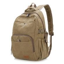 Canvas Laptop Backpack For Men Women School Mochila Feminina Fashion Women Travel Backpacks School Backpack