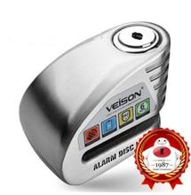 Motorbike Waterproof  Anti-theft 130dB Alarm Lock Motorcycle Bike Disc Security Warning Lock 6mm Pin Brake Lock