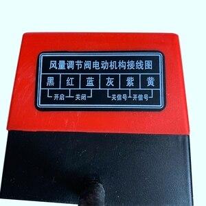 Image 5 - Soupape damortissement dair Ac220V actionneur damortisseur électrique de conduit électrique pour vannes de Ventilation avec rétroaction de Signal