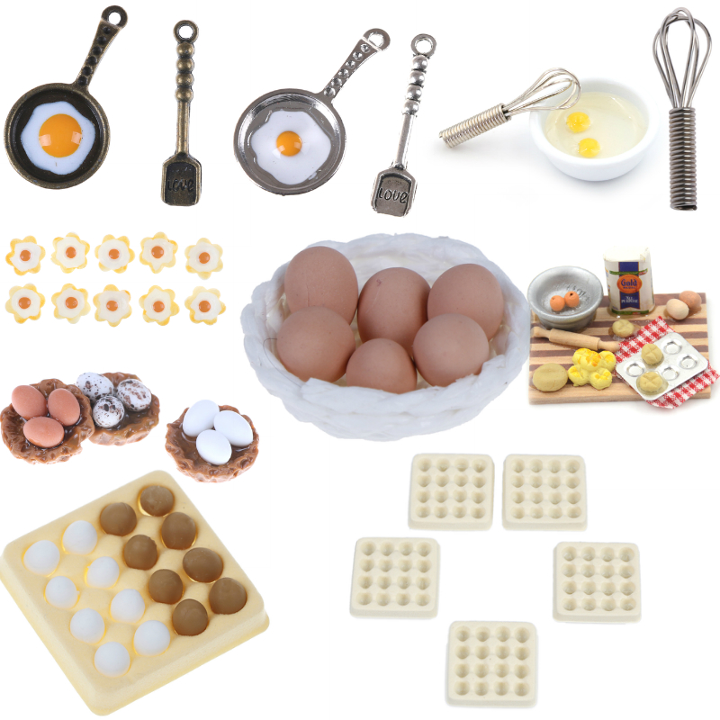 Fun Kitchen Toys Egg Kitchen Food Pretend Role Play Food Simulation Fruits Vegetables Children Play Toy Decoration Christmas Toy