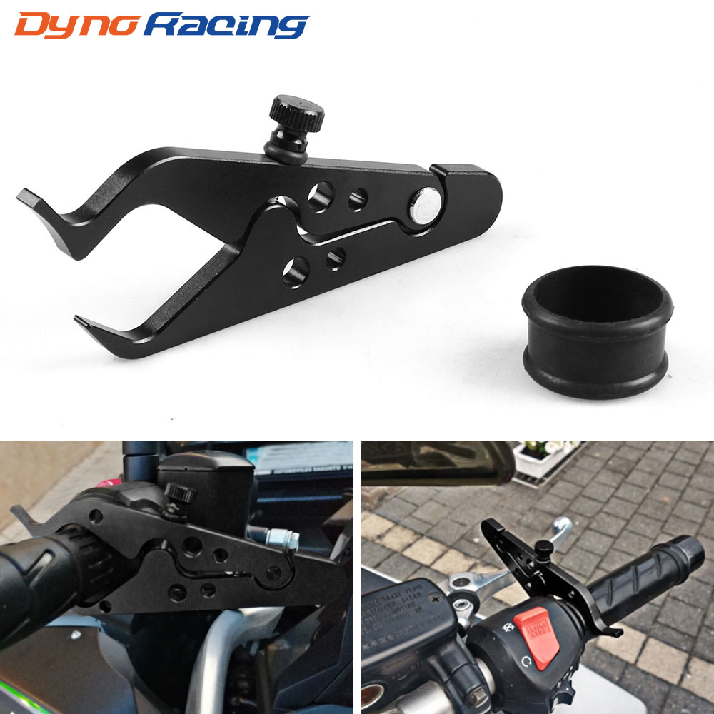 Universal Black Motorcycle CNC Cruise Control Throttle Lock Assist Retainer Grip Useful Motorcycle Accessories