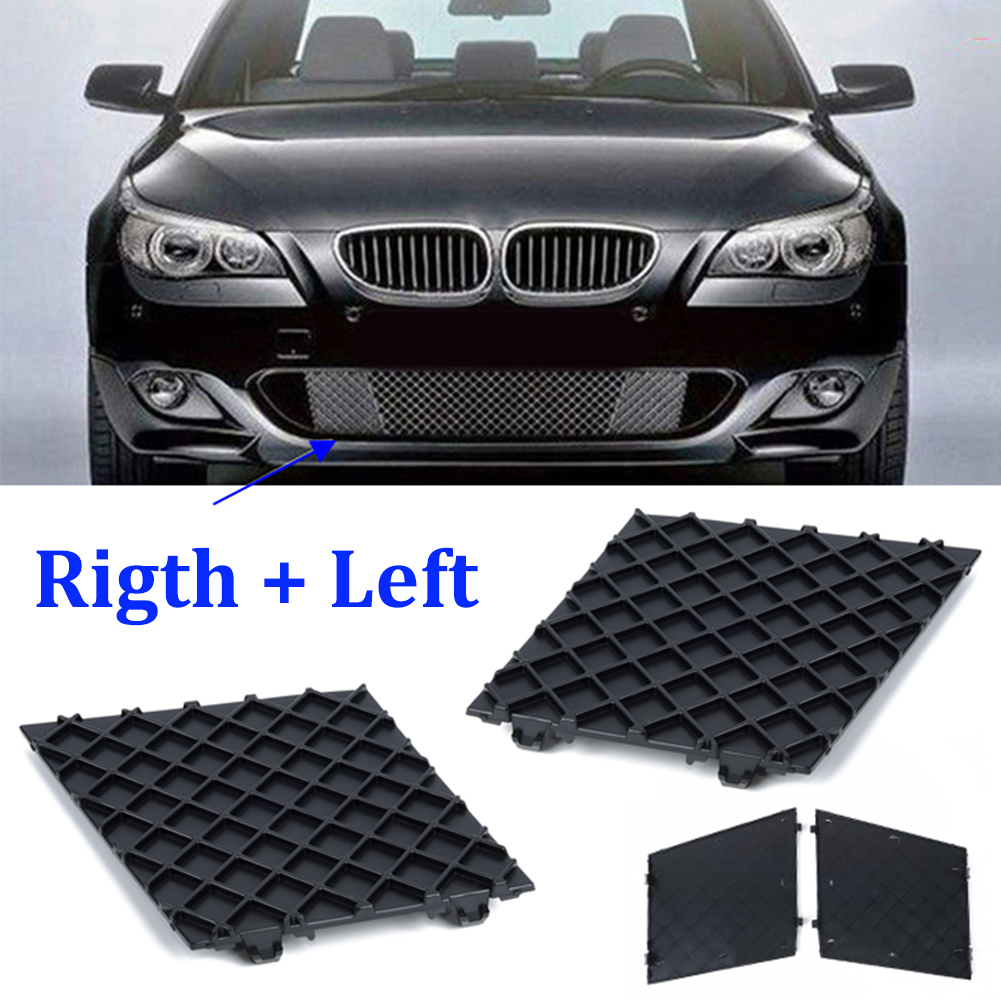 Car Front Bumper Cover Lower Mesh Grille Grill Trim Suit For BMW E60 E61 M Sport
