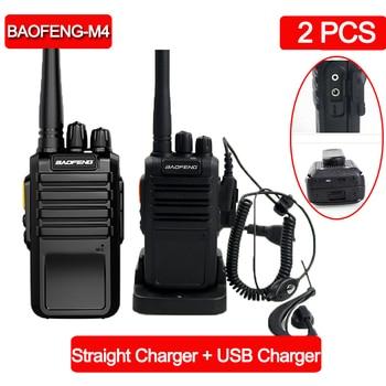 2 個baofeng M4 強力なトランシーバーラジオステーションのuhf 400-470mhz 16CH cbラジオtalki walkiポータブルトランシーバートランシーバー