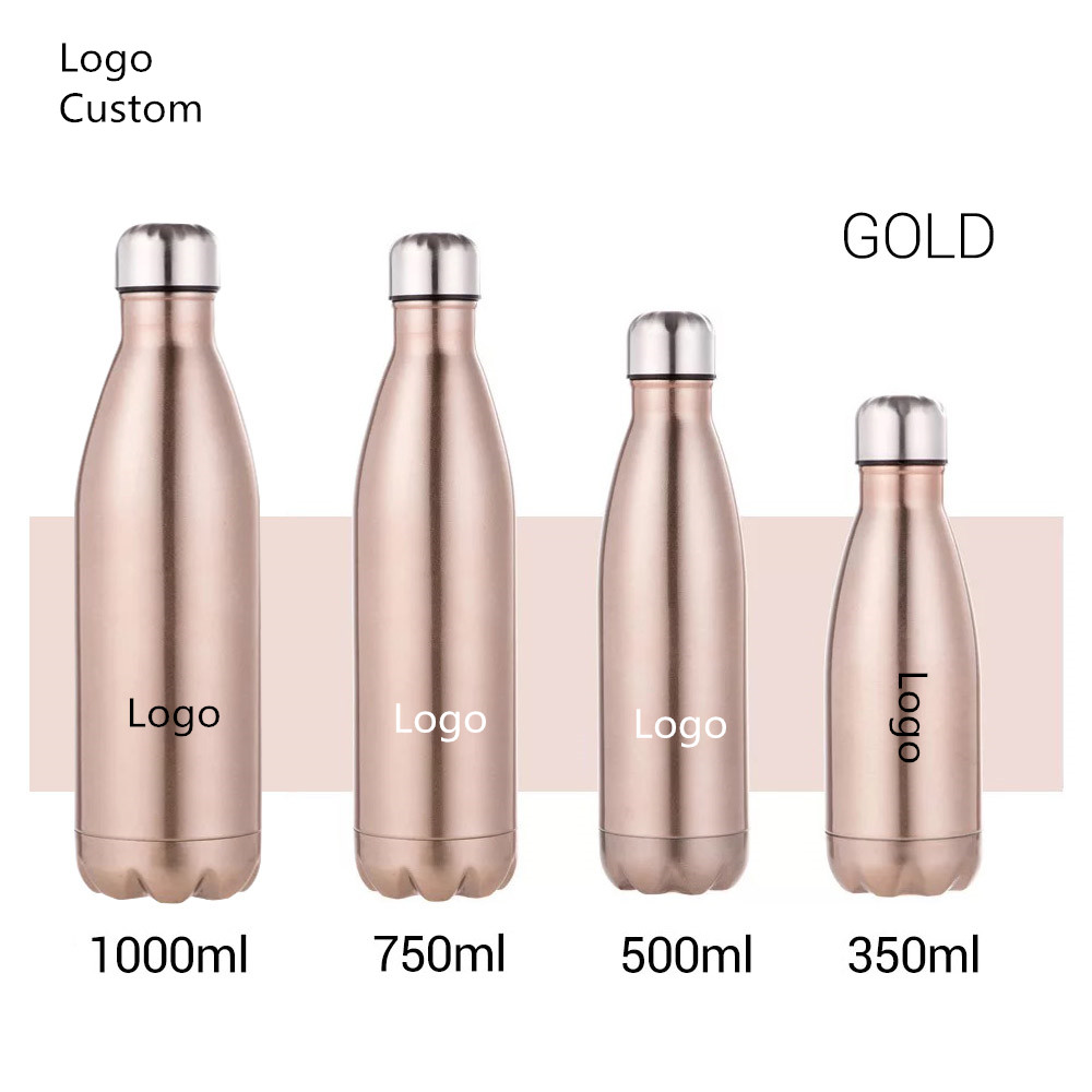 LOGO Custom Stainless Steel Water Bottle Thermos Bottle Vacuum Flasks Thermoses Cup Bottle For Water Coffee