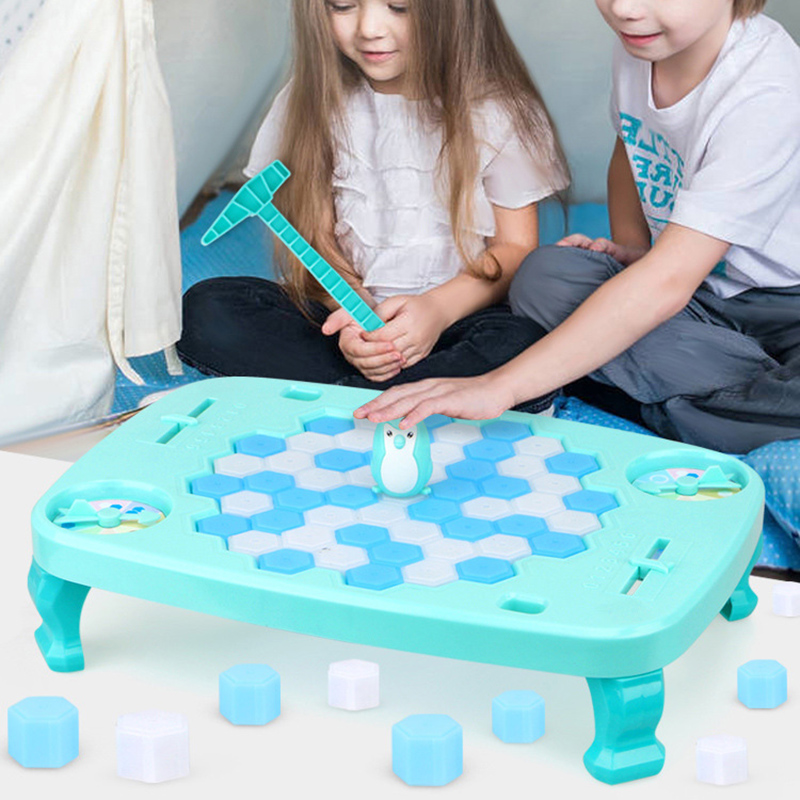 Family Games Board Toys Penguin Trap Break The Ice Game Save Penguin On Ice Block Party Supplies Fun Toys Game for Kid