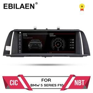 Android 10.0 Car Multimedia player For BMW 5 Series F10/F11/520(2011-2016) CIC NBT GPS Autoradio 4GBRAM 64GBROM navigation IPS