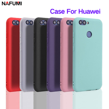 Get more info on the Case For Huawei Nova 2 Silicone tpu case Soft Back Cover For Huawei Nova 2 Plus Crystal and Matte solid colors Case