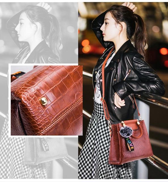AECLVR 4pcs/Set Women Bag Ladies Hand Bags Luxury Handbags Women Bags Designer Bags For Women 2020 Handbag PU Composite Bag Luggage & Bags