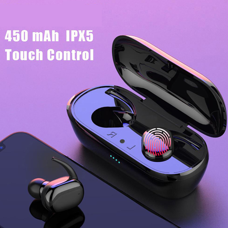 Y30 наушники вкладыши TWS с Беспроводной Bluetooth наушники 3D стерео звук музыки In ear гарнитуры с зарядным устройством для смартфонов|Наушники и гарнитуры|   | АлиЭкспресс