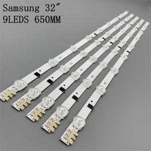 Image 1 - Tv Led Bars Voor Samsung UE32F4000AW UE32F5000AK UE32F5030AW UE32F5300AW UE32F5300AK Led Backlight Strip Kit 9 Lamp Lens 5 Bands