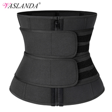 Espartilho de cintura oscilante, espartilho de treino sauna, modeladora feminina para perda de peso, modeladora lombar, cinto de treino