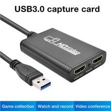 Recording-Box PS4 USB3.0 HD Acquisition-Card Live-Broadcast 4k-Drive