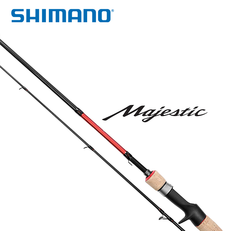 2020 SHIMANO Majestic SECTIONS ML/M/MH POWER 2.08M Carbon Regular Fast Action Ultralight Lure Spinning and Baitcast Fishing Rod