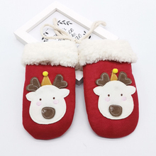 Winter Gloves Cute Baby Warm cartoon Mittens Unisex Hot Sale