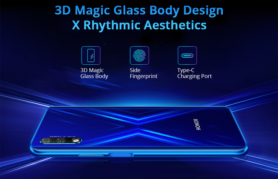 Honor 9X Kirin 810 7nm Octa core Smartphone 48MP Dual Camera 6.59 Full Screen Pop Up Front Camera Google Play (12)