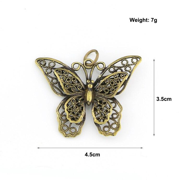 Hollow Butterfly Keychain Pendants (9)
