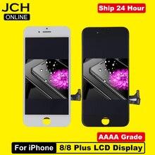 החלפת LCD עבור iPhone 8 OEM תצוגת Digitizer עצרת 3D מגע מסך עבור iPhone 8 בתוספת LCD החלפת מסך שחור לבן