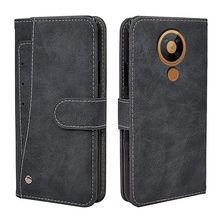 New Business Flip Leather Case For Nokia 5 6 8 5.3 2.4 3.4 2.3 3.2 4.2 6.2 7.2 2.1 5.1 6.1 7.1 Plus Case Vintage Wallet Cover