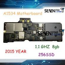 Placa lógica mac gouzi 820-00045-10 para macbook retina 12 early início de 2015 a1534 661-02249 m-5y31 1.1 8gb placa lógica
