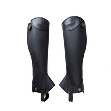 Boots Leggings Equipement Equestrian Pu-Horse Riding Children Leg-Protector Cover Cheval