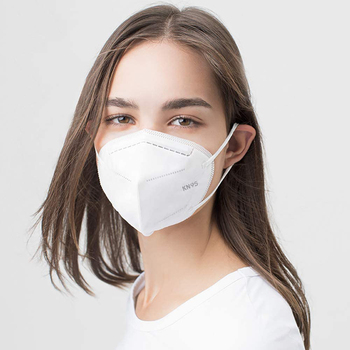 5 Layer KN95 Face Masks Dust Respirator KN95 Mouth Masks Adaptable Against Pollution Breathable Mask Filter