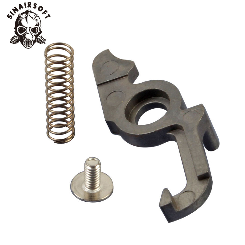 Hot Tactical SHS Steel Cut Off Lever Yaw Control Bar Fit Version 2 Gearbox For AEG Airsoft M4 M16 Paintball Hunting Accessories