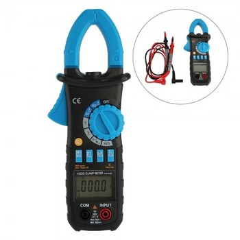 BSIDE ACM03 Auto Range Digital Clamp Meter 400A AC DC Current 600V Resistance Capacitance Frequency Hz Tester with Backlight new arrivals ac 96 hz 380v ampere pointer diagnostic tool tester cymometer frequency portable counter swr meter hertz china