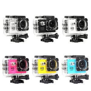 Action Camera Plastic 30M Waterproof Go Diving Pro Sport Mini Dv 1080P Video Camera Bike Helmet Car Cam Dvr