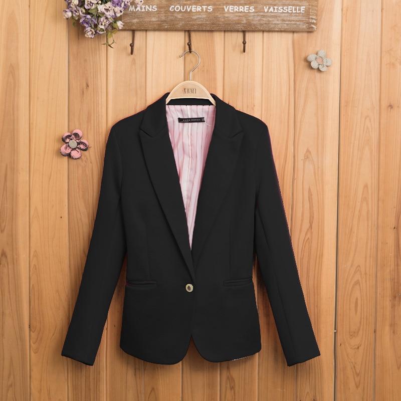 Fashion Blaiser Feminino Women's Long Sleeve Suit Blazer Feminino Longo Women Clothes 2019 Ladies Blazer Boho Style New Hot Sale