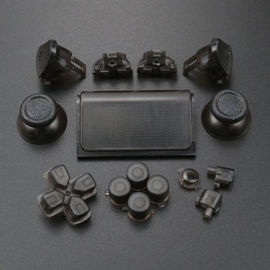 Image 3 - YuXi For Dualshock 4 PS4 Pro Slim Controller jds 040 jds 040 Dpad L1 R1 L2 R2 Trigger Buttons Analog  Joystick Sticks