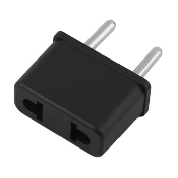 European Plug Adapter Power Converter Travel from Usa Us to EU Europe Italy Plug Adapters Travel Plug Adapters Outlet Adaptor image