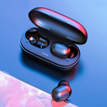 2019 Hot HD Stereo TWS Sports Bluetooth Earphones Touch Control Earbuds earphone Stereo Wireless Headset With Charging Box t50 tws bluetooth headset sports touch wireless earphone 3d stereo microphone wireless earbuds charging box