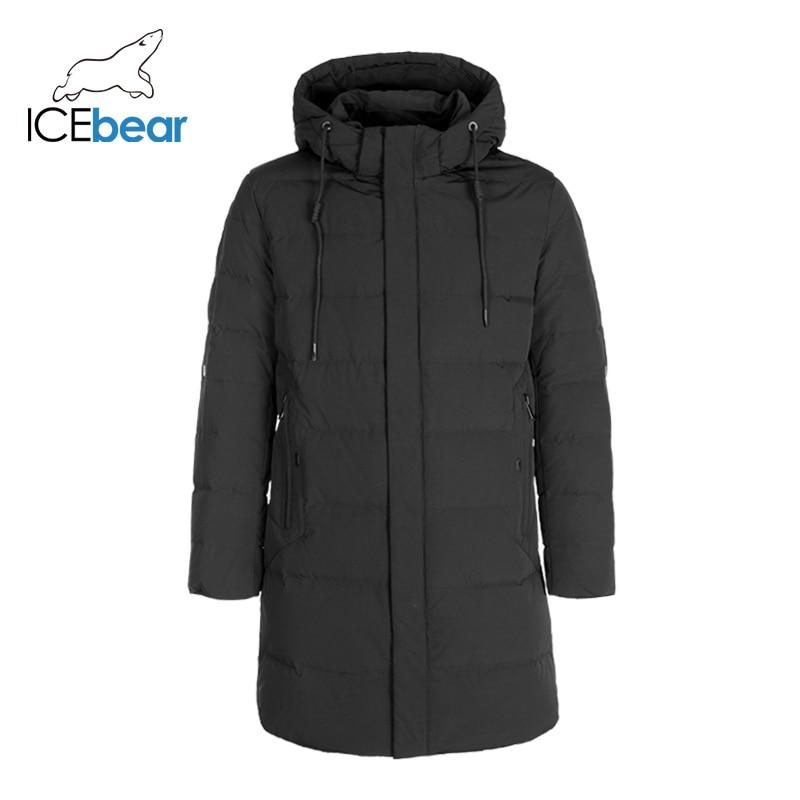 ICEbear 2019 New Men's Winter Down Jacket Thick Warm Men's Coat High Quality Men's Clothing YT8117050