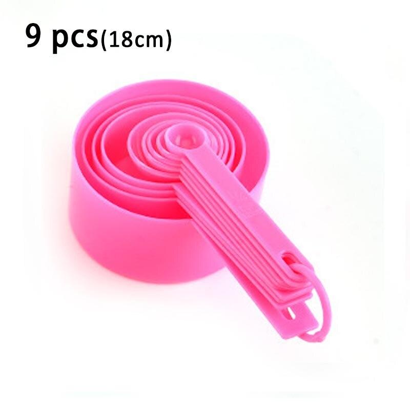 9pcs pink