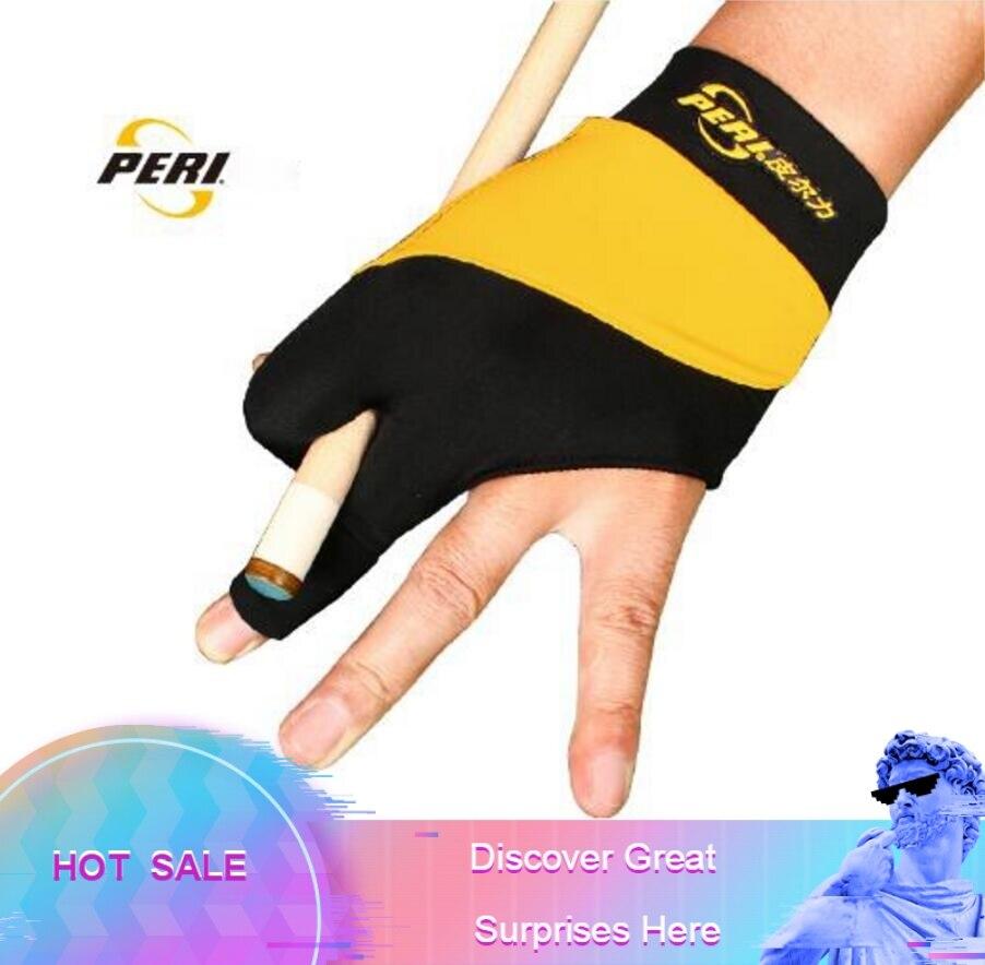 Excellent High end PERI Gloves Lycra Fabric Billiard Gloves Non slip Professional Pool Gloves Snooker Glove