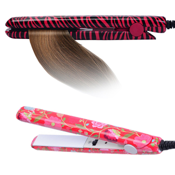 Electronic Hair Iron Hairstyling Portable Ceramic Flat Iron Hair Straightener Irons Styling Tools 1