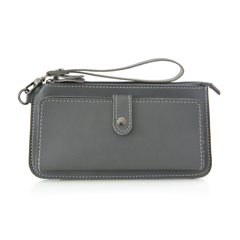 Wristlet Womens Clutch Phone Wallet Coin Purses Ladies Wallets Money Bag Female Card Holder Purse Leather Long Wallets Women