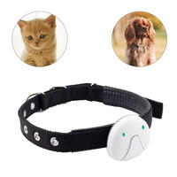 Electronic Smart Durable Cat Dog Pet GPS Tracker WIFI Locator LBS Location Real Time Tracking Mini With Collar Waterproof