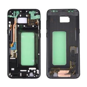 Image 1 - 삼성 갤럭시 s8 g950 g950f g950fd g950t g950v 기존 전화 하우징 섀시 lcd 플레이트 새로운 중간 프레임 접착제